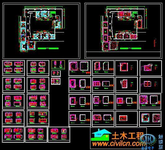 ktv整体装修工程图 - ktv门面装修效果图