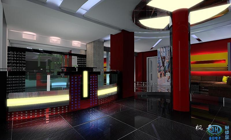 ktv吧台设计图,大厅整体装修包括吧台