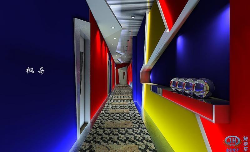 包廂走道設計圖,ktv包房過道裝修圖