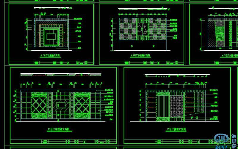 整体ktv装修工程图 - ktv门面装修效果图